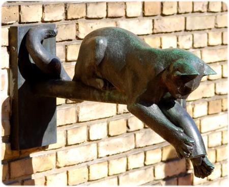 Bronzekatten