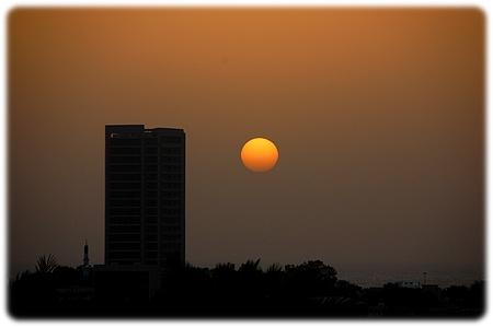 RAK solnedgang
