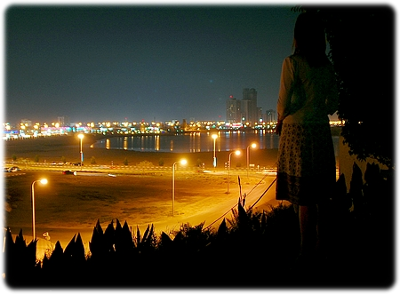 Ras Al-Khaimah by night