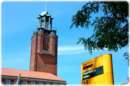 Frederiksberg Rådhus - eller fyrtårn?