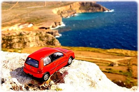 Lupo ved Qammieh Coast, Mellieha, Malta