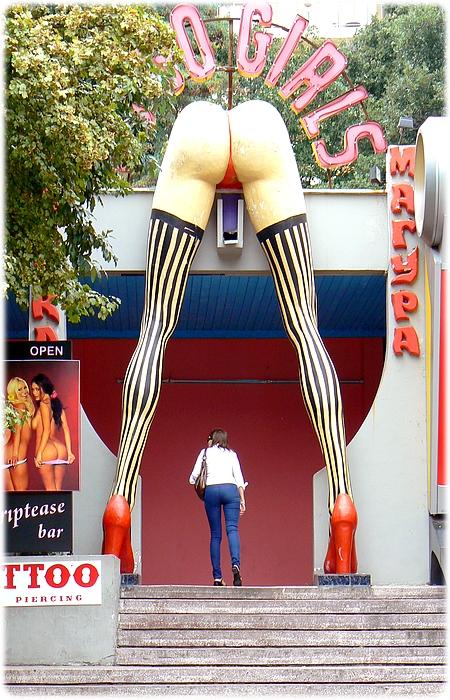 Lupo søger feriejob på stripbar