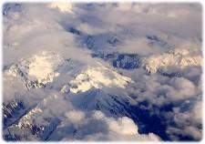 Skyet over alperne